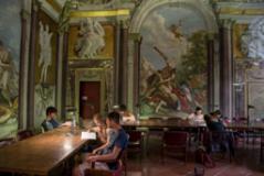 Biblioteca dela sede di Via San Gallo (Foto da comunicato)