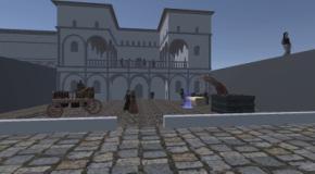 Realtà virtuale la città di Leonardo da Vinci