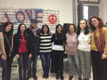 Foto di gruppo alla primaria Carducci di Fucecchio