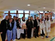Il prefetto Lega visita l'ospedale pediatrico Meyer
