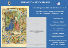 Biblioteca Riccardiana (Foto da comunicato)