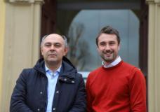 Il sottosegretario De Cristofaro con il sindaco Falchi