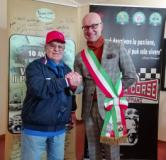 Il sindaco Spinelli con Giuseppe Cau
