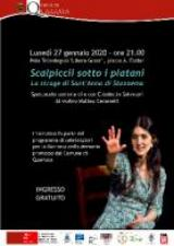 """Quarrata. Giornata della Memoria: al Polo Tecnologico lo spettacolo """"Scalpiccii sotto i platani"""""""