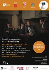 Klezmerata Fiorentina - manifesto
