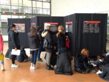 scolaresche in visita alla mostra (Foto da comunicato)