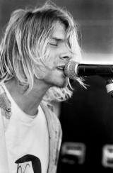 Kurt Cobain Beehive Records Seattle, 1991 © Charles Peterson 2020