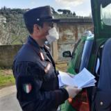 controlli dei Carabinieri Forestali nei laboratori di confezionamento abiti