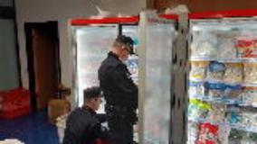 Controlli dei Carabinieri Forestali e Polizia Municipale (Foto da comunicato)