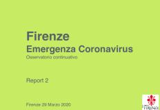Secondo questionario di indagine Coronavirus
