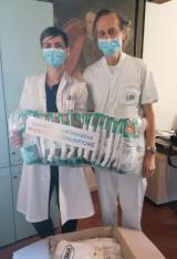 nella foto allegata da sx la dottoressa Melani con il dottor Rosso