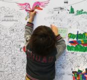 Bambini alle prese con le 'Architetture fantastiche'
