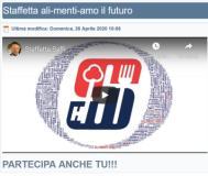 Staffetta AliMentiAmo il Futuro Insieme sul sito dell'Istituto Saffi