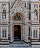 Una porta del Duomo di Firenze