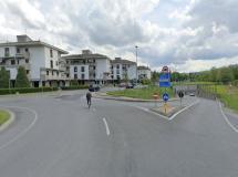 L'ingresso di Via Caduti sul Lavoro (fonte - Google Street View fornita da Comune di Certaldo)