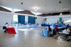 Consiglio comunale al palaexpo