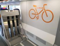 Spazio biciclette sui treni Rock