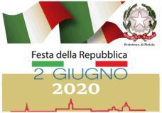 Banner festa della Repubblica a Pistoia