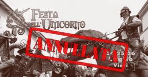 Locandina Festa annullata a Vinci