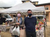 Tomasi e Risaliti, mercato alle Fornaci (Foto da comunicato)