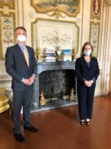 Il prefetto di Firenze ha incontrato il Console Generale Americano