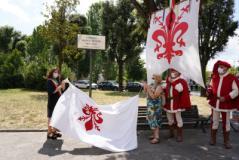 Cerimonia intitolazione giardino a Bianca Bianchi