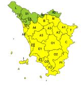 Maltempo, codice giallo per vento. Possibili piogge in Appennino fino alle 16 di domani