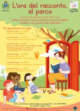 Locandina 'L'ora del racconto…al parco'