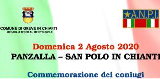 Locandina commemorazione Pietro Stefanini e Dina Boncristiani