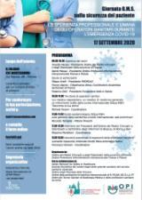 Operatori sanitari e Covid, tra esperienza umana e professionale