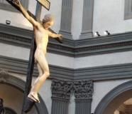 Crocifisso di Michelangelo nel complesso di Santo Spirito di Firenze