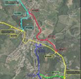 Il tracciato della circonvallazione