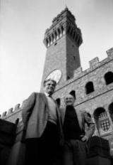 Piero Farulli con Salvatore Accardo