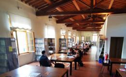 Sala della biblioteca comunale di Empoli