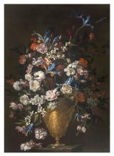 Fond.De Vito_Luca Forte, Vaso di fiori con iris