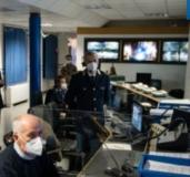 Sala operativa della Polizia di Stato