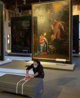 Preparativi per la riapertura a Palazzo Pretorio