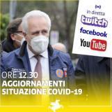 Immagine dai social del presidente della Regione Eugenio Giani