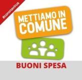 Buoni spesa logo (fonte sito comune)