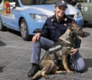 Il cane poliziotto Eviva