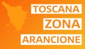 Banner Toscana zona arancione