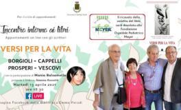 Depliant 'Versi per la vita' a Cerreto Guidi