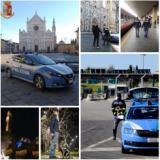 Collage immagini Polizia di Stato a Firenze