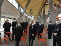 Visita del Prefetto Guidi a Sollicciano (Fonte foto Prefettura di Firenze)