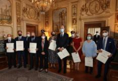 Cerimonia per il 2 giugno in Prefettura a Firenze
