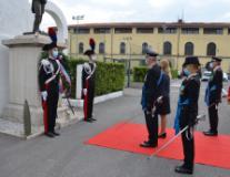 Cerimonia a Firenze per il 207o Anniversario di Fondazione dell'Arma dei Carabinieri