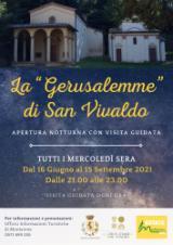 Locandina La Gerusalemme di San Vivaldo_Special Opening at night_2021