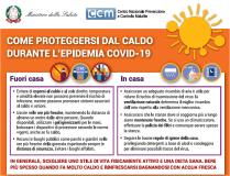 Come proteggersi dal caldo in pandemia (materiale completo in allegato)