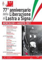 77° anniversario della Liberazione - locandina