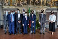 Delegazione FAO in Palazzo Vecchio